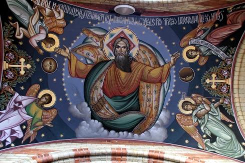 Catedral rumana ortodoxa Sibiu fresco