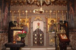 Monasterio Cozia interior