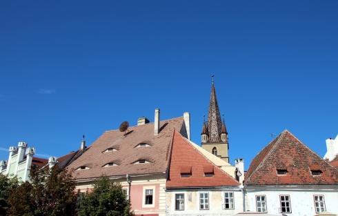 Sibiu ojos que miran