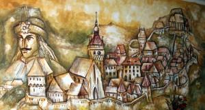 Sighisoara mural