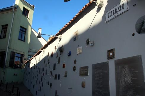Calle de los Literatos