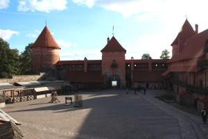 Castillo de Trakai interior