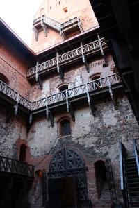 Castillo de Trakai patio interior