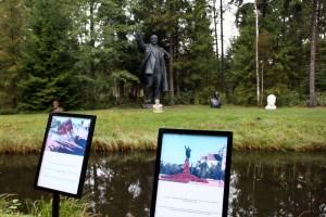 estatuas caida