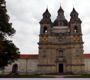 monasterio de Pažaislis fachada