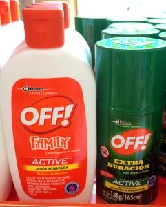 antimosquitos off