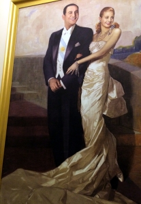 cuadro Peron y Eva