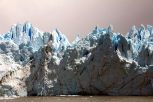 detalle Perito Moreno desde el barco