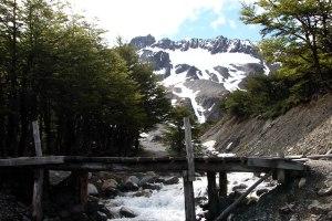 Glaciar Martial rio