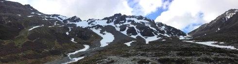 Montañas Glaciar Martial