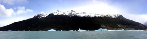 vistas en la excursion todo glaciares