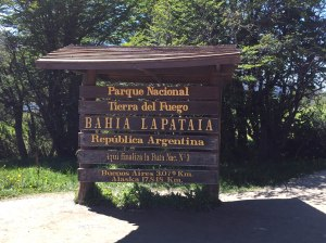 Bahia Lapataia - fin ruta 3, Tierra de Fuego