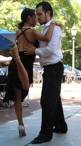 baile tango plaza 2 San Telmo