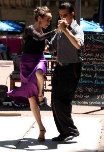 baile tango plaza San Telmo