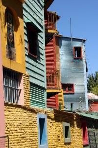 Bloque casas Caminito, Buenos Aires