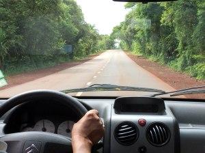 Carretera Iguazu al aeropuerto