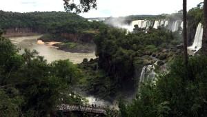 Cataratas del Iguazu, isla