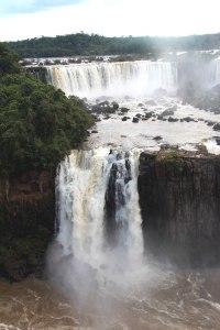 Cataratas do Iguazu, salto de agua doble