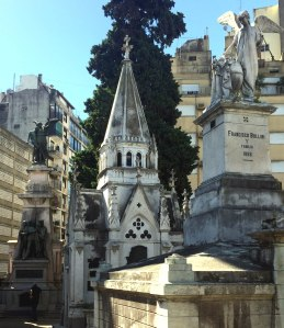 Cementerio de La Recoleta, edificios, Buenos Aires