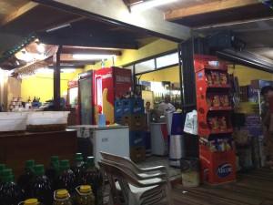 cena en la Feirinha, Iguazu