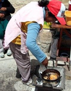 Empanadas en San Martin de los Cobres