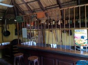 Empanadas y vino, estancia Santa Susana
