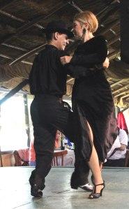 Estancia Santa Susana, espectaculo tango
