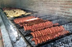 Estancia Santa Susana, parrillada de carne