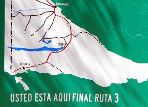 fin ruta 3 Ushuaia