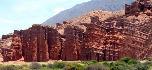 Los castillos, Quebrada de las Conchas