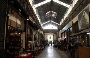 mercado antiguedades San Telmo