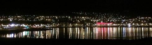 mini panoramica ushuaia noche