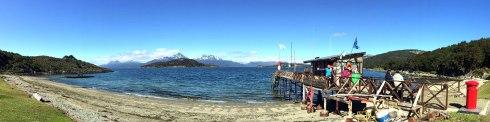 panoramica Bahia Ensenada buzon P.N. Tierra de Fuego