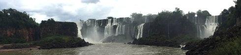 Panoramica Cataratas del Iguazu, Argentina