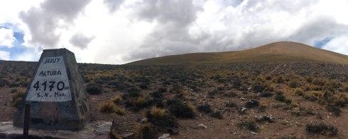 Panoramica Jujuy 4170 msnm