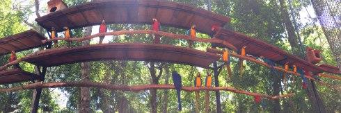 Panoramica Parque de las Aves, Iguazu