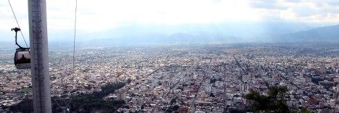 Panoramica Salta desde el Cerro de San Bernardo
