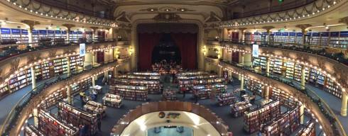 Panoramica Teatro Gran Splendid, Buenos Aires