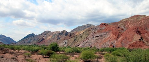 Panorammica Valles Calchaquies, quebrada de las conchas