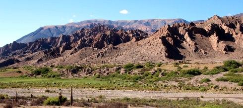 Panorámica Quebrada del Toro