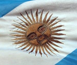 sol bandera argentina