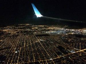 vuelo nocturno Buenos Aires