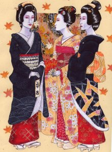 geiko_and_maiko- ilustracion