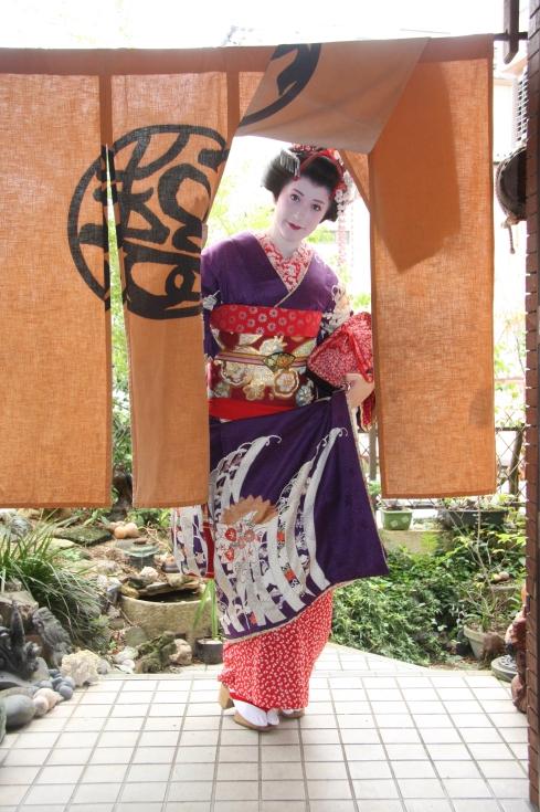 Maiko transformación exterior