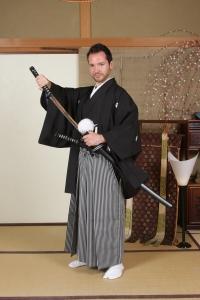 Samurai transformación katana
