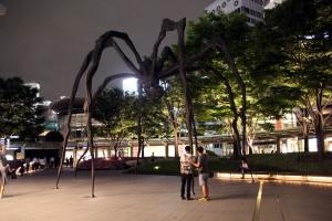 araña gigante, Roppongi