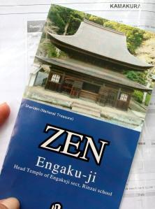 folleto Engakuji, kamakura
