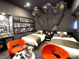 Habitacion Godzilla, Hotel Gracery Shinjuku, Tokio
