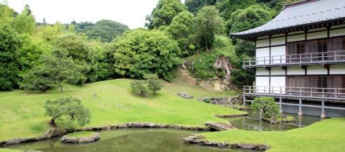 jardin templo Kenchoji, Kamakura