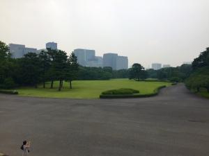 Jardines del este Palacio imperial, Tokio
